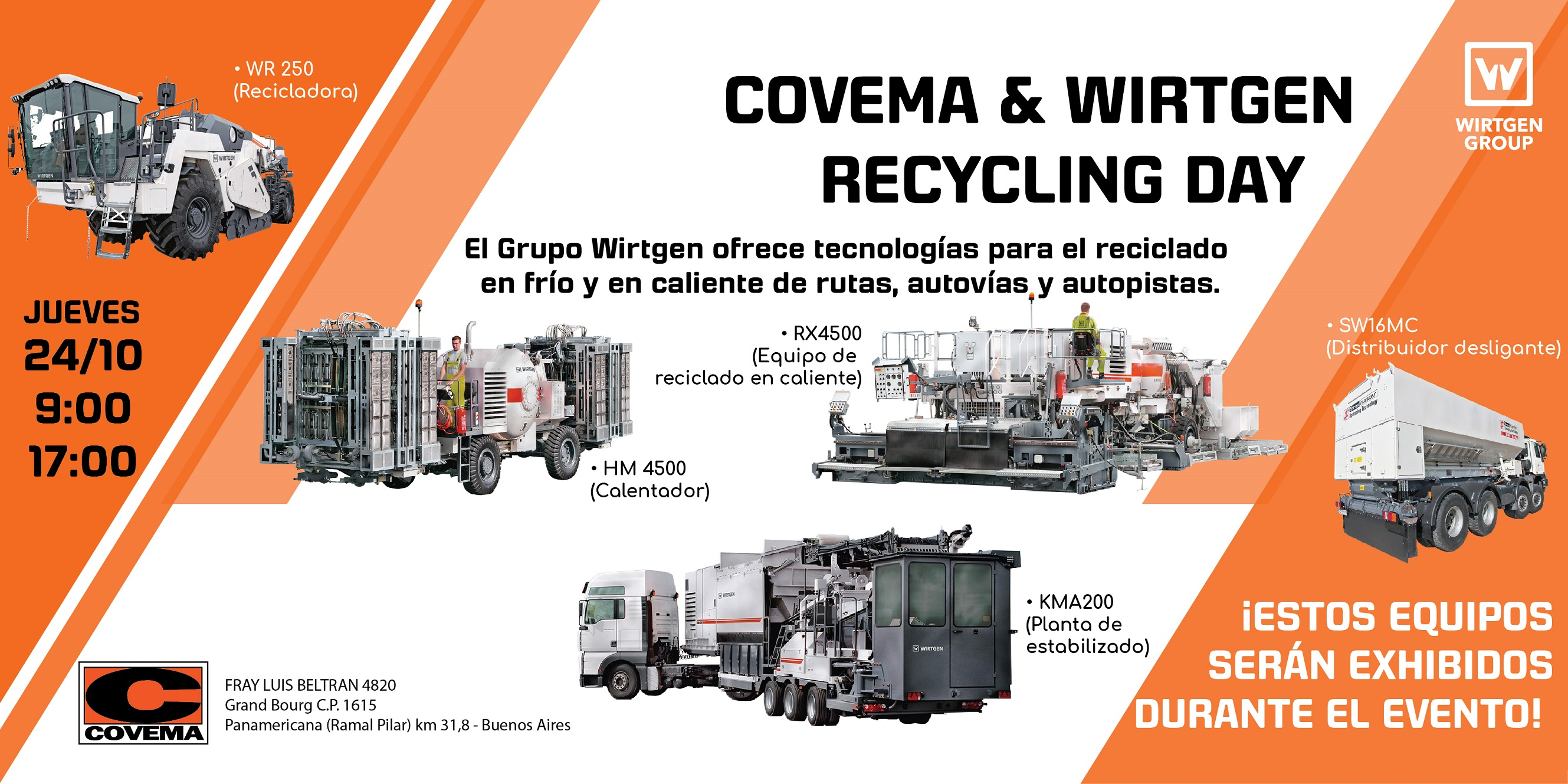 "COVEMA & WIRTGEN ""RECYCLING DAY"""